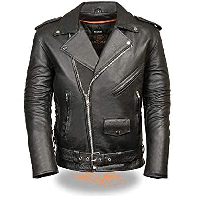 giacca moto in pelle