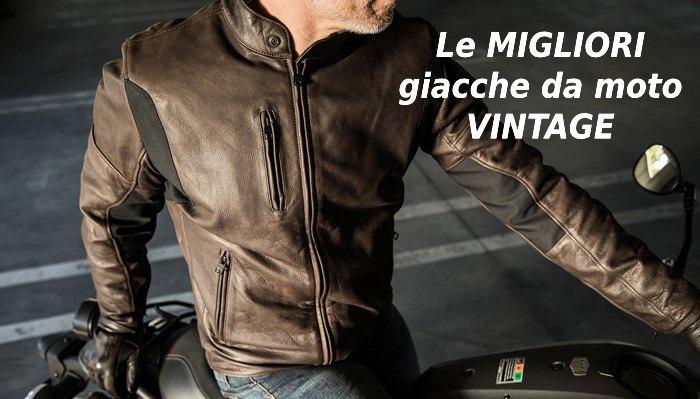 Migliori giacche moto vintage